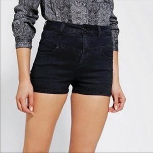 Urban Outfitters BDG super high rise seam shorts